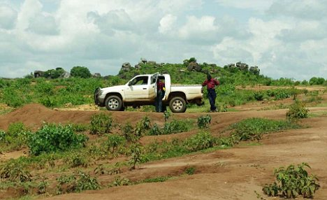 Prospective ground: The Karamoja Gold Project, where artisanal mining points to some fairly rich, near surface gold anomalies