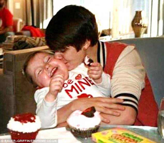 Touching tribute: Justin Bieber's message about the death of six-year-old brain cancer victim Avalanna Routh became the most retweeted of 2012 - being sent almost 224,000 times
