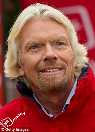 Betting: Branson said he would pay £1m to BA staff if Virgin Atlantic disappears