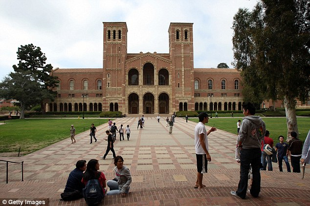 Affected: The updated logo will be used across all UC universities, including UCLA, pictured