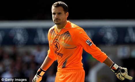 United he stands: Carlo Cudicini could be on his way to LA Galaxy