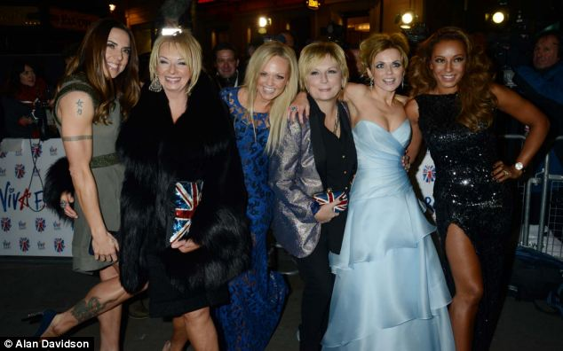 Mamma Mia and Viva Forever! producer Judy Craymer, second from left, made a mistake hiring Jennifer Saunders, centre