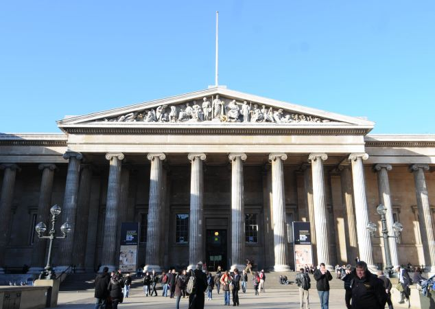 The petty officer thought he was talking to two spies when he met the men in the British museum