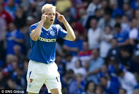 No brainer: Naismith left Ibrox after Rangers were relegated