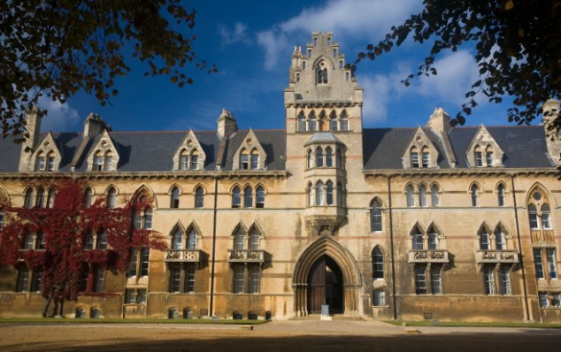 Top students: Some students are rejecting middle-tier universities and taking a year out before applying to higher-ranking institutions, such as Oxford University, to get better value for their money