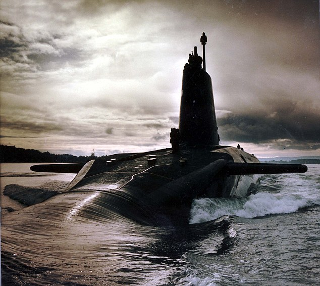 Covert operations: HMS Vigilant could have been compromised, had Devenney actually sold secrets