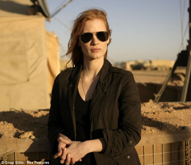 A attractive young female CIA agent, played by Jessica Chastain in the film Zero Dark Thirty, spent the best part of a decade to finding Bin Laden and became the SEALs' go-to expert on intelligence matters about their target