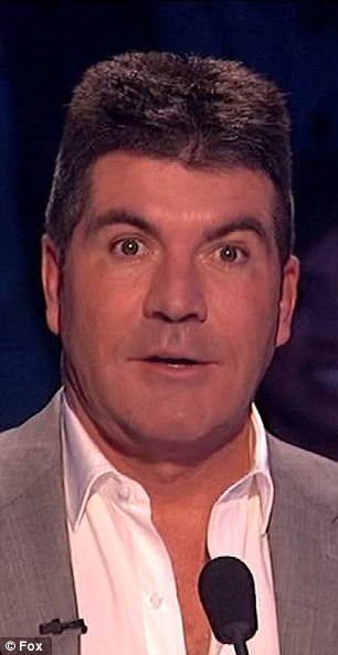 Under pressure: The music mogul is facing pressure after viewing figures fell significantly for this year's UK X Factor