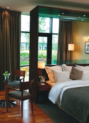 A room at The GlassHouse hotel, Edinburgh