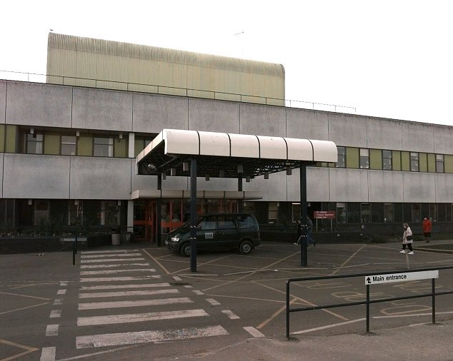 In patient: Mr Betchley, 81, had been admitted to Colchester General Hospital (pictured), in Essex, two months earlier after suffering breathing difficulties