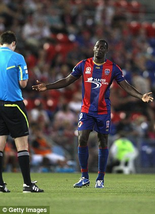 So soon? Emile Heskey's time at the Newcastle Jets could be over