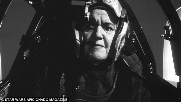 Age not a barrier: An older pilot also engages in battle against Darth Vadar in the epic battle of good versus evil