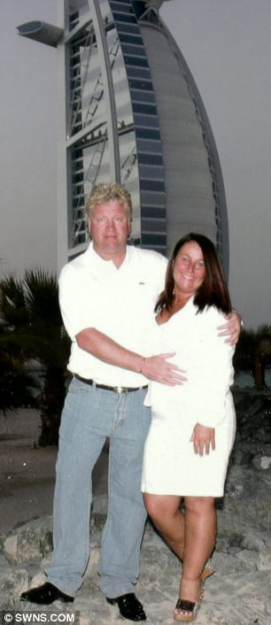 Luxury lifestyle: William and Mary (or Breda) Connors, pictured in Dubai, lived the high life while forcing vulnerable people to obey their every command