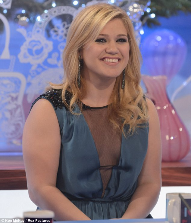 Very happy: Kelly, seen on Loose Women earlier this year, has spoken about her wish to get married in the past