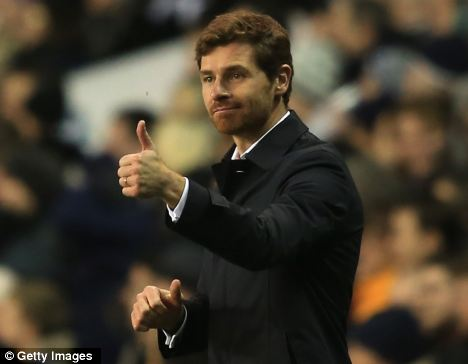 Spurs manager Andre Villas-Boas (pictured) believes his side will cut out their late lapses in concentration