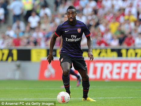 Napoli bound? Arsenal defender Johan Djourou has been linked with the Italian side