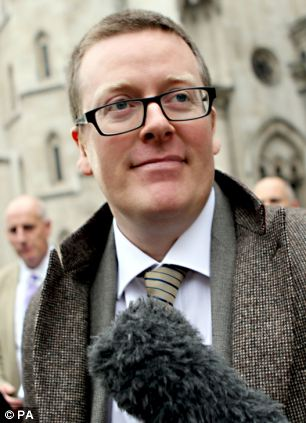 Defamation: Boyle is to use the money awarded in his libel action to help Mr Aamer sue the intelligence services