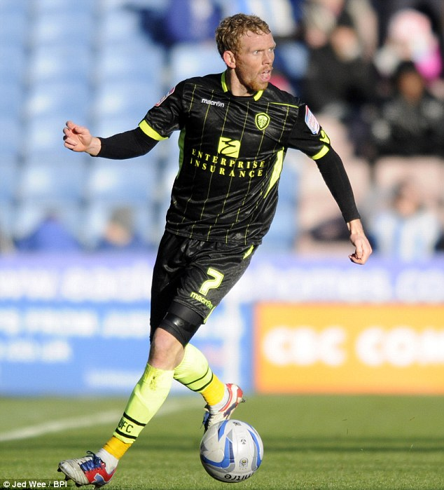 Goal grabber: Paul Green sealed the win for Leeds by scoring the second goal