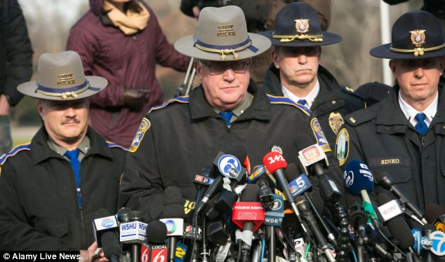 Connecticut State Police Lieutenant Paul Vance said he was confident that he would soon