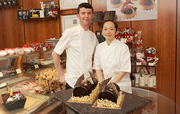Think big: A plan lets chocolatiers William and Suzue Curley diversity
