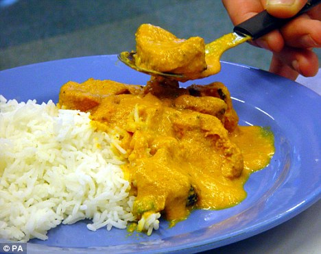 Changes: Britons are eating fewer Indian takeaways ¿ as they switch to supermarket ready-meals instead