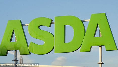 Cheap: Asda sells two main dishes, two rice dishes and two snacks for £7