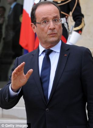 New financial measures: French President Francois Hollande has imposed a top rate of income tax of 75 per cent