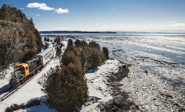 Le Massif de Charlevoix train, Quebec