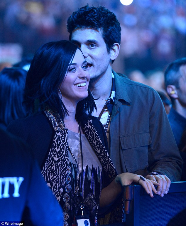 Rock and Roll: Katy was heard calling John her boyfriend when they attended a Rolling Stones concert earlier this week