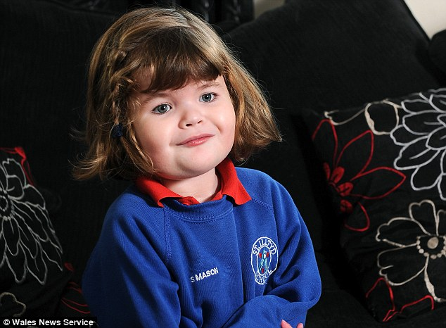 Sienna was diagnosed with Opitz syndrome, a metabolic disorder that affects physical and mental development