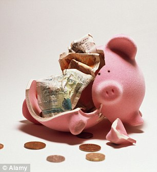 Meltdown: The Funding for Lending scheme has played havoc with the number of savings accounts available