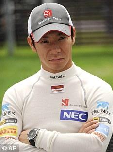 Kobayashi's three-year spell at Sauber came to an end this season