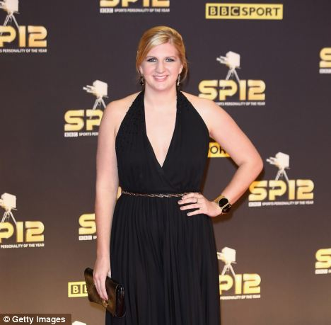 Criticism: Rebecca Adlington, pictured at the BBC SPOTY awards,