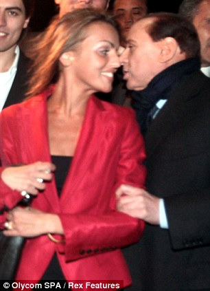 Silvio Berlusconi supported Francesca Pascale as she ran for office in Naples in 2009