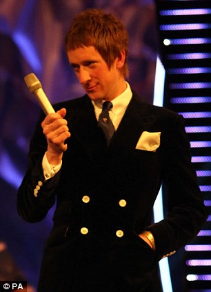 Bradley Wiggins during the BBC Sports Personality of the Year Awards 2012 at ExCeL London