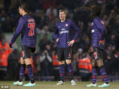 Christmas cheer? Arsenal are facing a tricky festive period