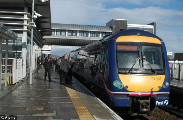 RMT members working for ScotRail will on Friday hold the first of two 24-hour Christmas strikes over what the union says is 'victimisation' of one of its members