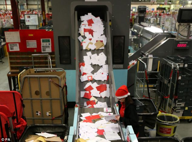 Pictured: The Glasgow Mail Centre in Springburn. Almost 1,000 postal engineers and cleaners are set to strike across the country this Friday, December 21