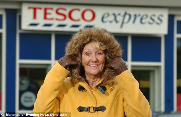 Barbara Francis, pictured, from Preston was told to take her hood down in a Tesco Express store for 'security reasons' by a jobsworth assistant