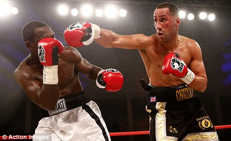 Moving on up: James DeGale has vacated his European crown in pursuit of glory at world level
