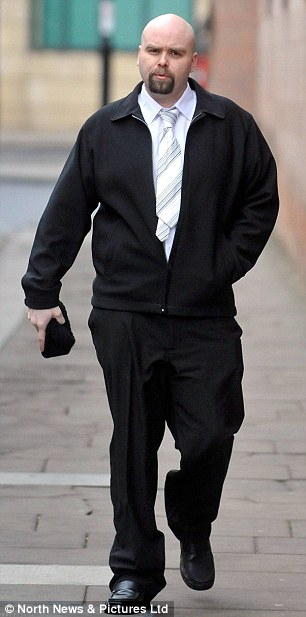 Richard Morgan, 32, found guilty of beating and shaking girlfriend's 13 month old baby Slater Sharkey to death