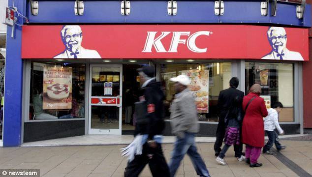 Scam: The pair struck at branches of KFC along with Asda, Tesco and Morrisons supermarkets
