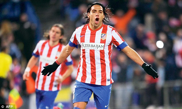 Hitman: Chelsea will need a new striker and Atletico Madrid's Radamel Falcao has been strongly linked