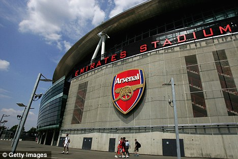 No go: The Gunners clash with West Ham at the Emirates must be rescheduled
