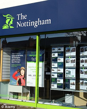 The £2.4bn Nottingham BS, the ninth largest in Britain, plans to merge with the tiny Shepshed BS next July