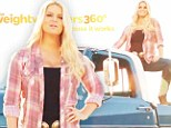 Nice bodywork! Jessica Simpson reveals her staggering weight loss as she frolics in the desert for new Weight Watchers advert