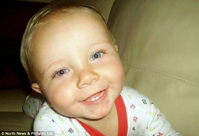 Tragic baby Slater Sharkey, who died aged just 13 months, suffered 'catastrophic' head trauma and a number of bruises