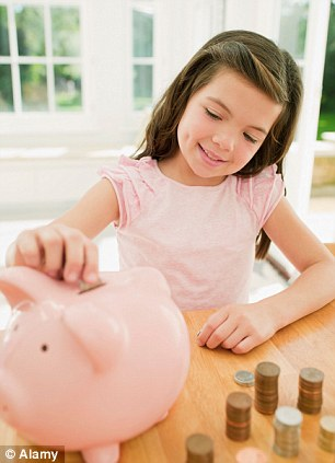 Good habit: Their savings should also be tax-free