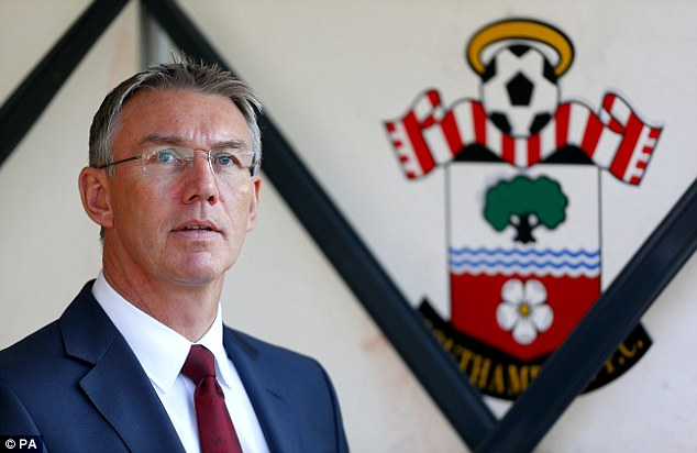 Reinforcements: Southampton are in need of several players and are not afraid to splash the cash
