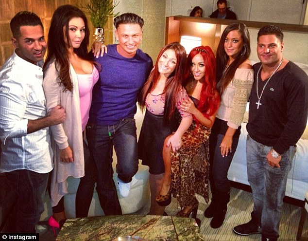 The whole gang: The entire cast of Jersey Shore is being reunited for their live television special